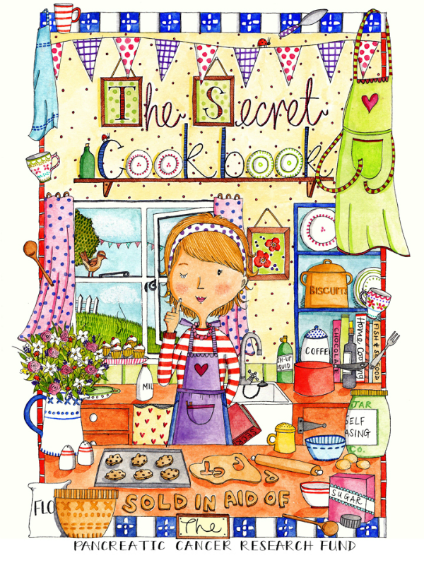 Cover image of the Secret Cookbook