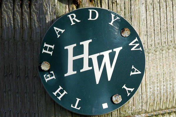 SIgnpost for the Hardy Way