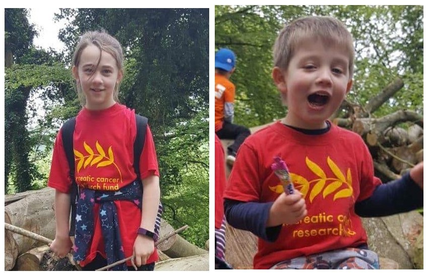 Amber Rowland and Edward Dudley completed the 10k South Downs Walk