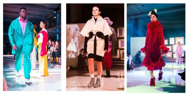 Models at Leeds Rag fashion show