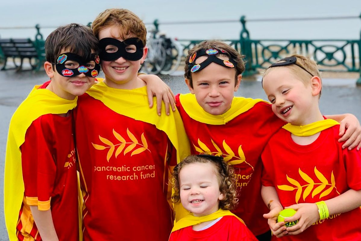 Gayton kids - Brighton Heroes run 19 May 2019