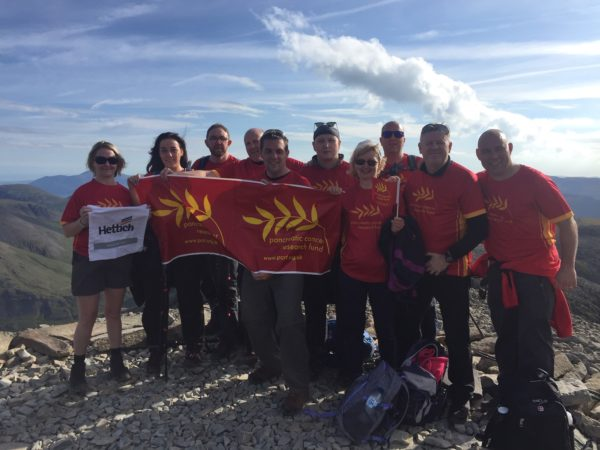 The Hettich UK team on their Two Peaks challenge