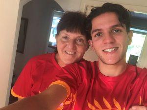 Alison Hamel and her son Omar